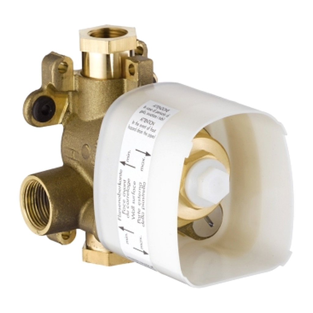 NáHRADNé DIELY A PRíSLUšENSTVO Axor - základné teleso pre termostat pod omietku 12x12, DN20 10754180