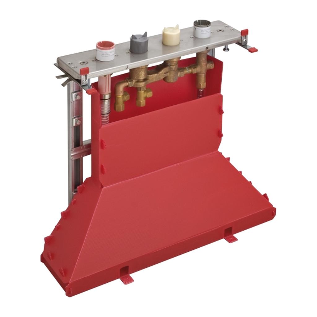 NáHRADNé DIELY A PRíSLUšENSTVO Hansgrohe - Teleso pre 4-otvorovú termostatickú batériu na sokeľ 15465180