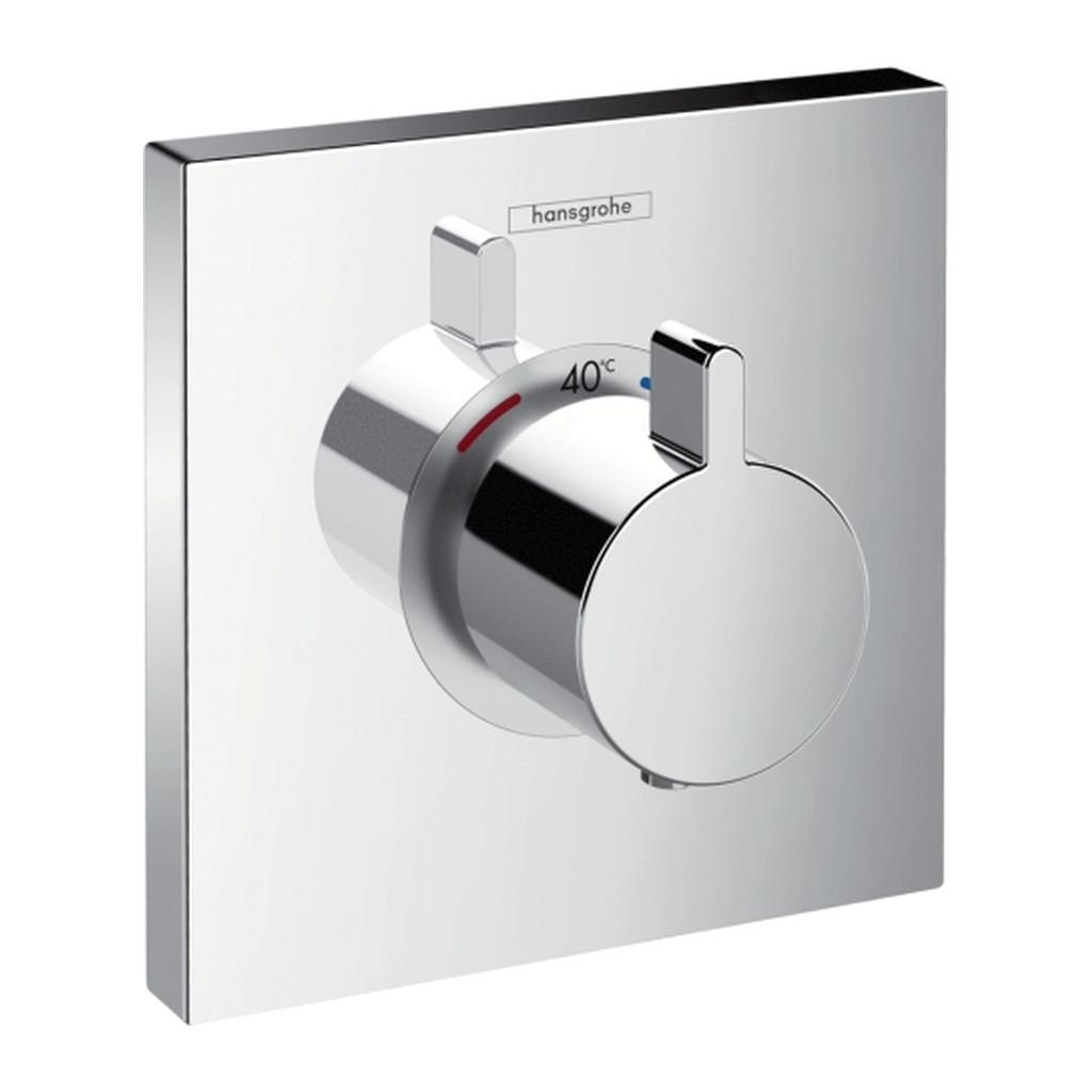 SHOWERSELECT, TERMOSTATICKé BATéRIE POD OMIETKU Hansgrohe ShowerSelect - termostatická batéria Highflow pod omietku,chróm 15760000