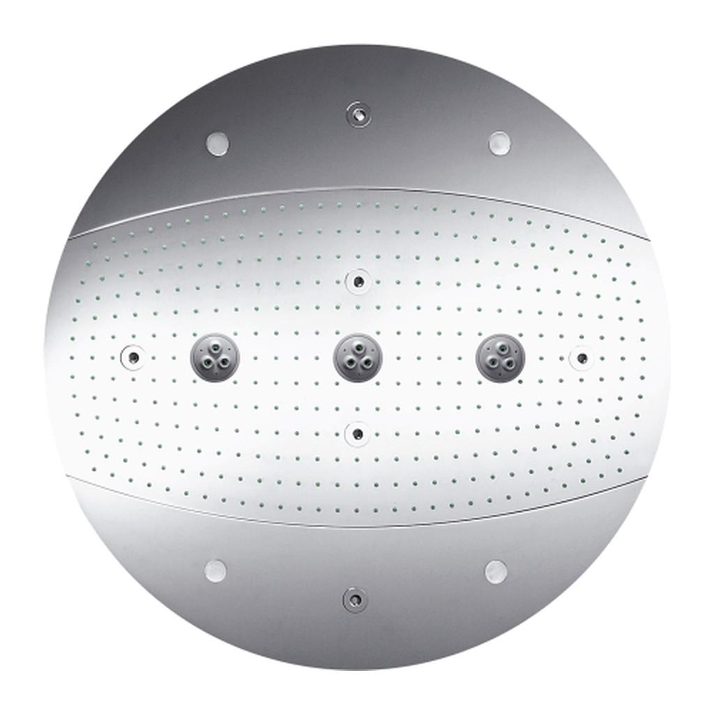 HLAVOVÉ SPRCHY Hansgrohe Raindance Rainmaker - hlavová sprcha, Ø 600 mm Air 3jet s osvetlením, chróm 26117000