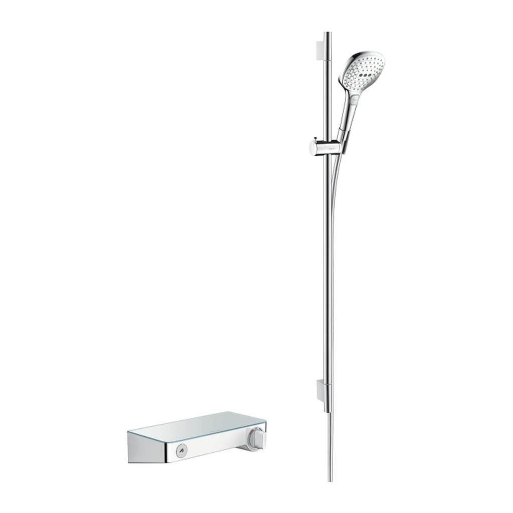 SELECT, SPRCHOVé SúPRAVY A SETY Hansgrohe ShowerTablet Select - sprchová súprava a termostatická batéria, biela-chróm 27027400