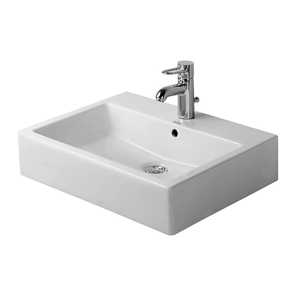 VERO Duravit Vero - Umývadlo, hladké, 60 x 47 cm, biele 0454600060