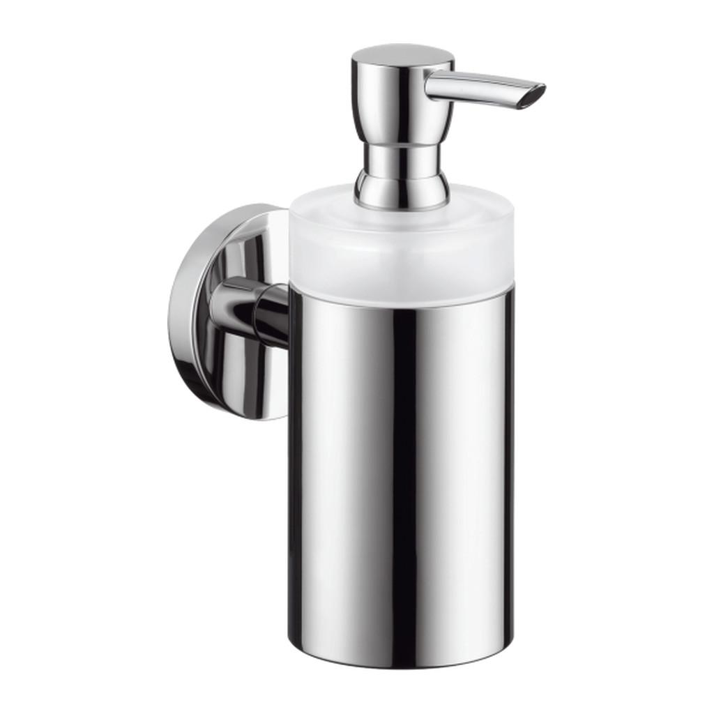 Hansgrohe Logis - Dávkovač tekutého mydla, sklenený, chróm 40514000