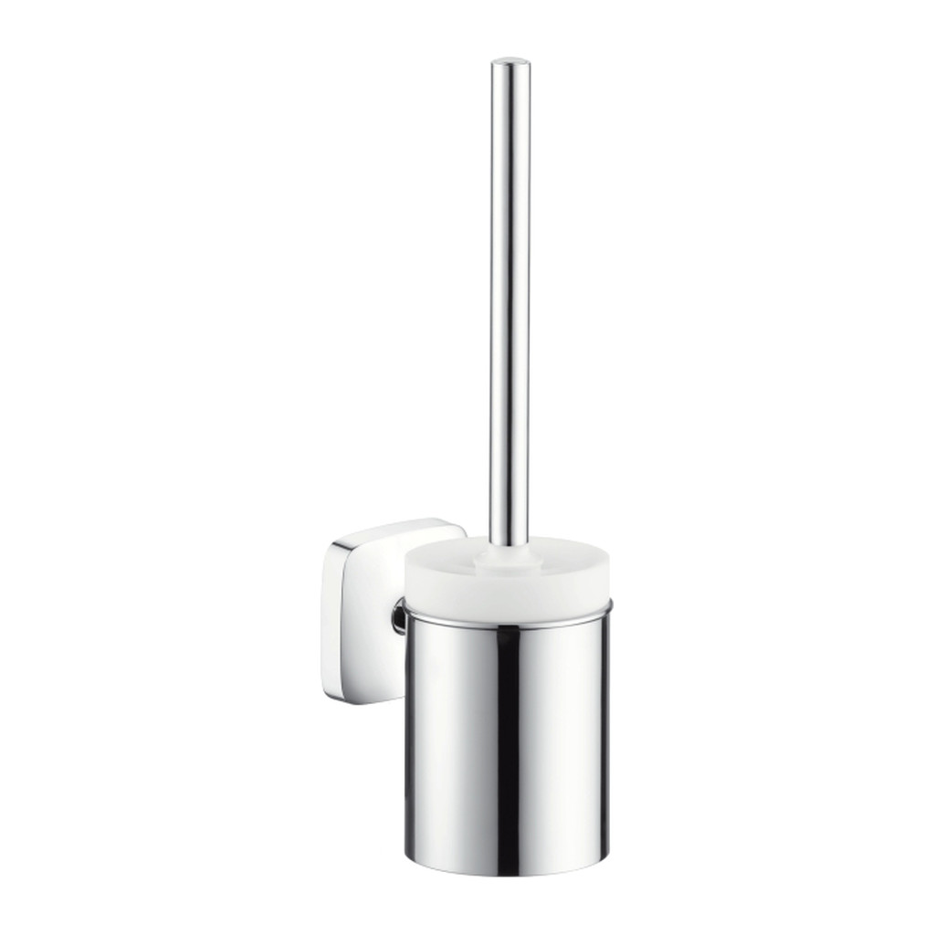 Hansgrohe PuraVida - WC kefa s držiakom, keramika 41505000