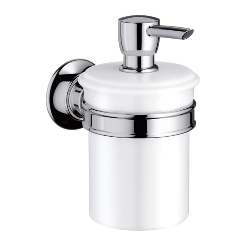 Axor Montreux - Dávkovač tekutého mydla, brúsený nikel 42019820