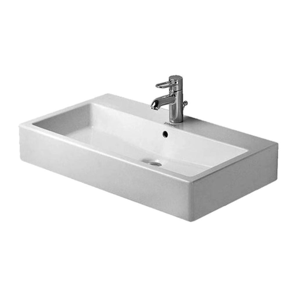 VERO Duravit Vero - Umývadlo 80x47 cm, hladké, biele 0454800060