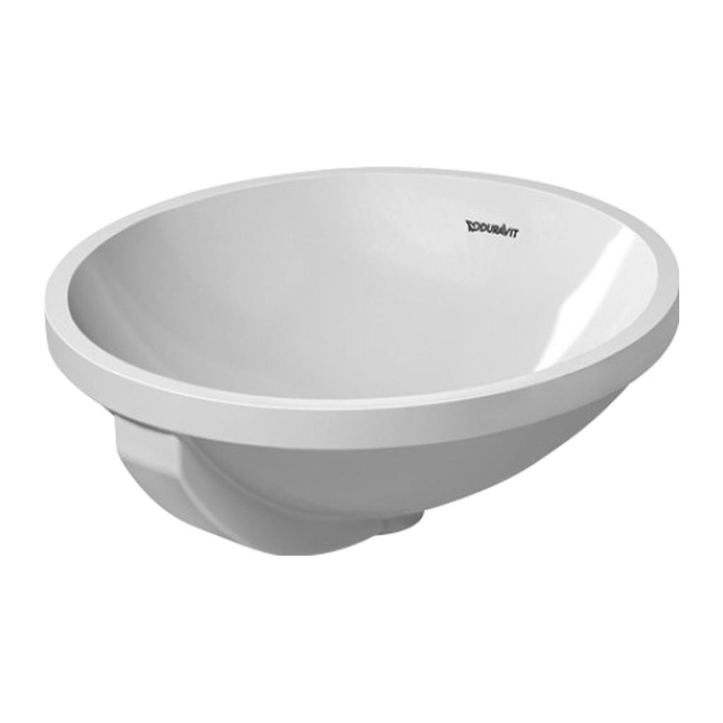 ARCHITEC Duravit Architec - Vstavané umývadlo, priemer 40 cm, biele 0468400000