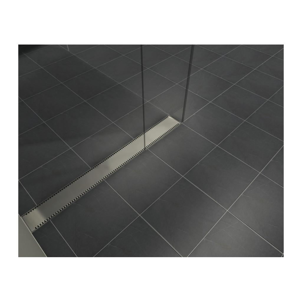 NEREZOVÉ SPRCHOVÉ ŽĽABY Sprchový rošt pre CLASSIC 90 a LIFT 90 - V0380 lesk-090