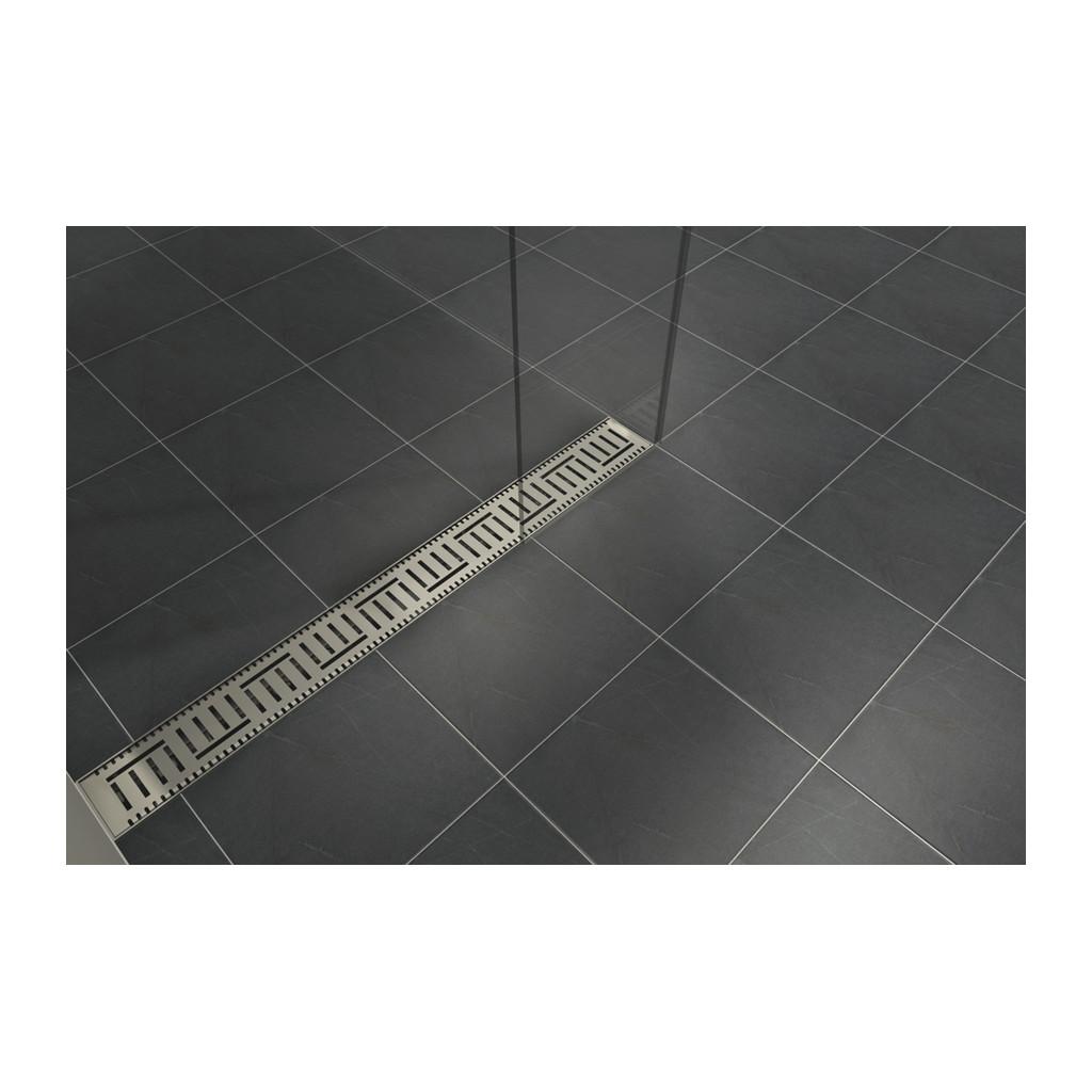 NEREZOVÉ SPRCHOVÉ ŽĽABY Sprchový rošt pre CLASSIC 90 a LIFT 90 - V0280-090