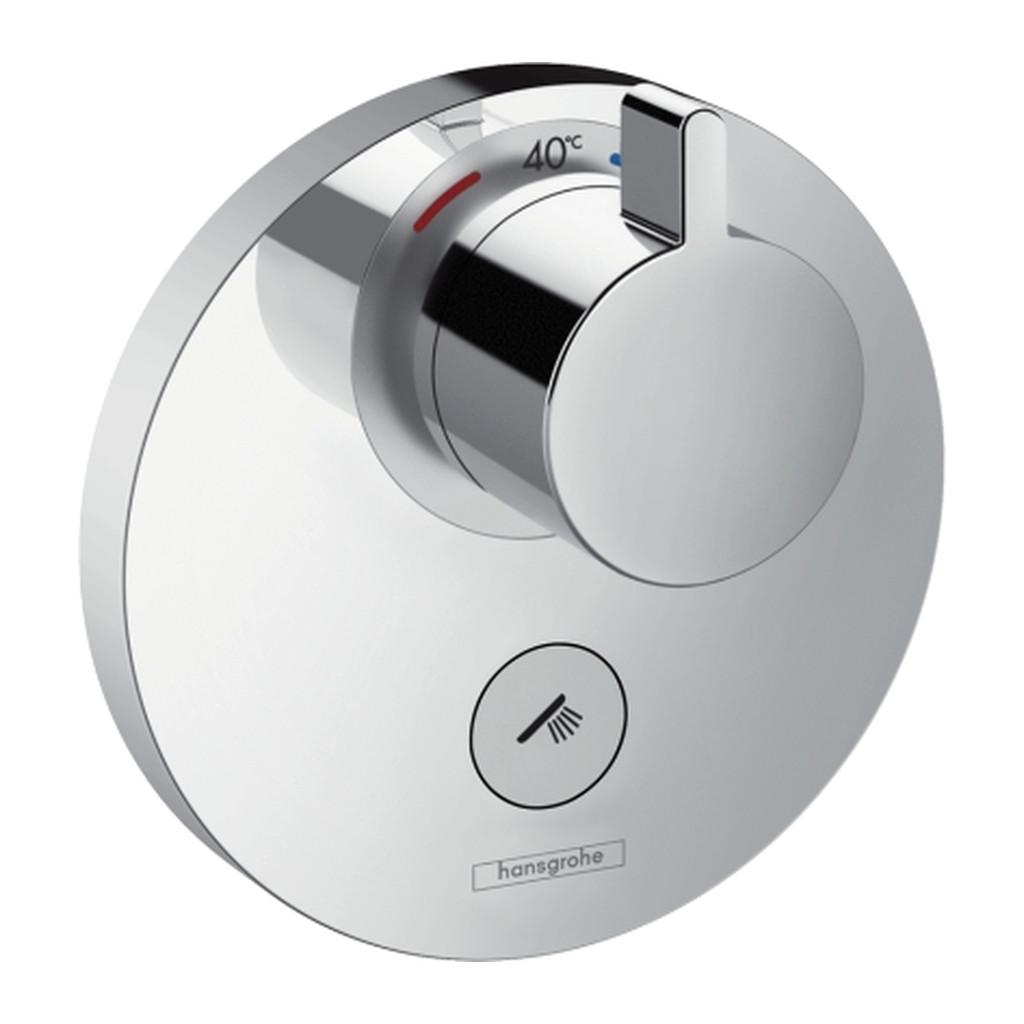 SHOWERSELECT, TERMOSTATICKé BATéRIE POD OMIETKU Hansgrohe ShowerSelect S - termostatická batéria Highflow pod omietku pre 1 spotrebič, chróm 15742000