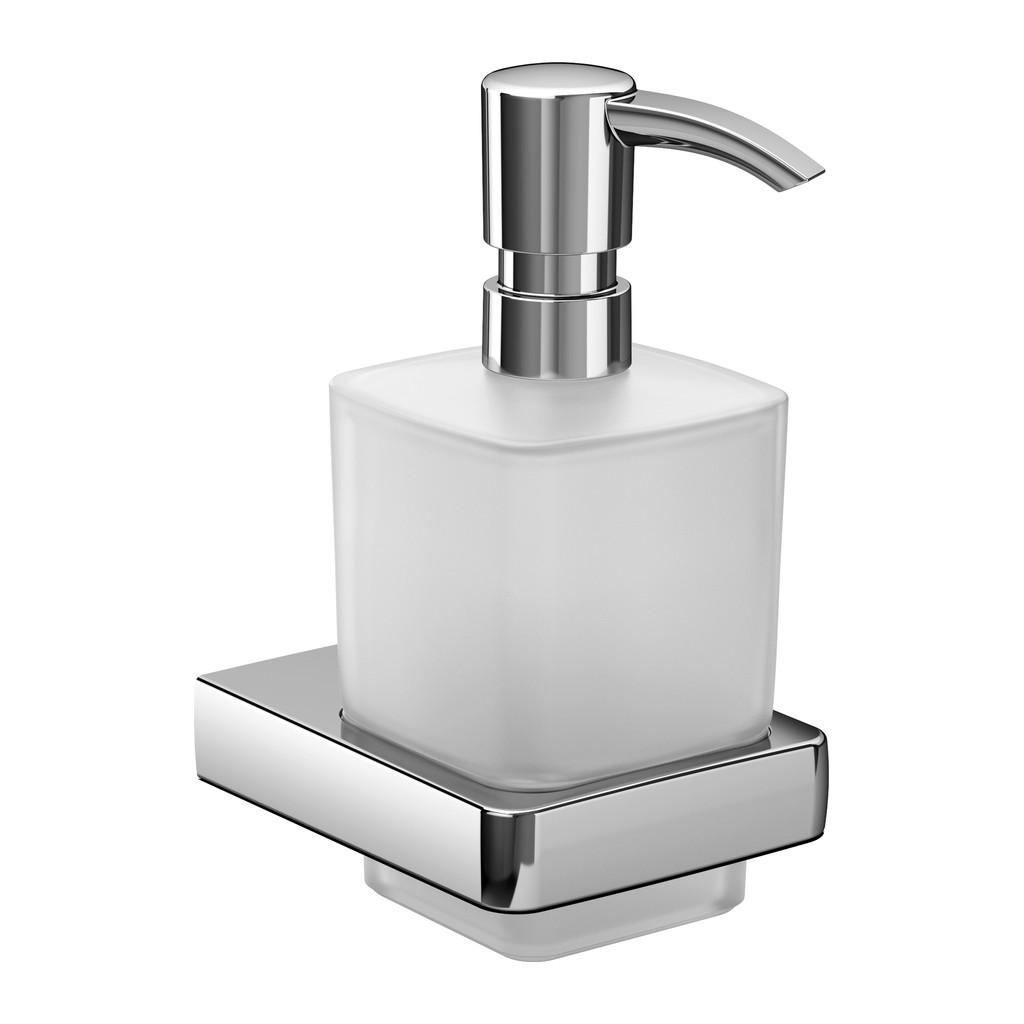 Emco Trend - Nástenný dávkovač tekutého mydla, krištáľové sklo 022100100