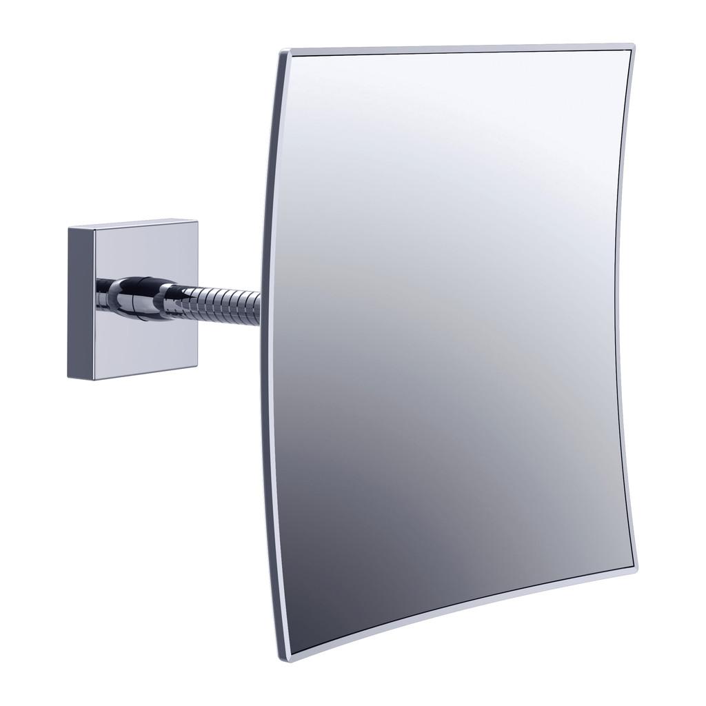 SYSTEM 2 Emco System 2 - Kozmetické zrkadlo nástenné, hranaté 109500107