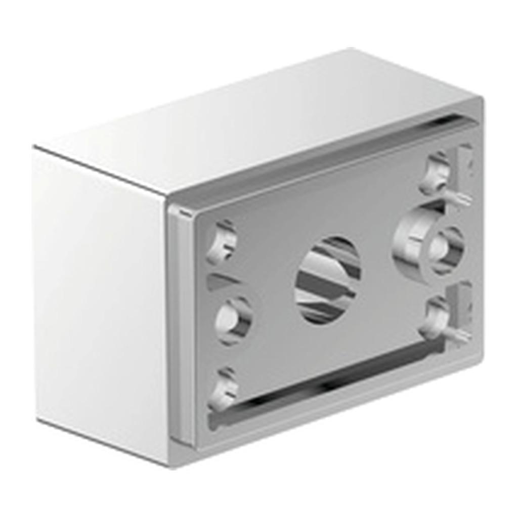 Emco Vara Designvarianten - spodný úchyt pre doplnky Vara, chróm 428000106
