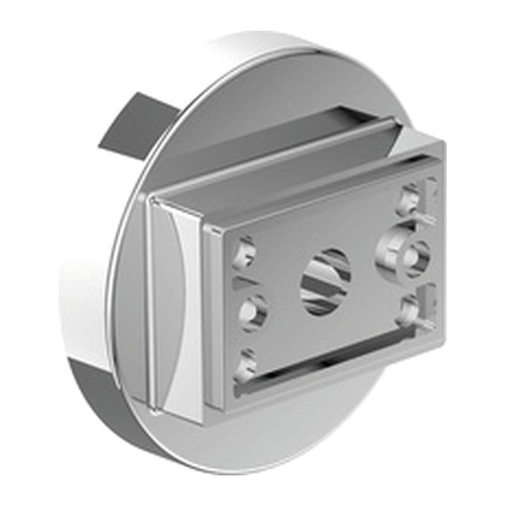 Emco Vara Designvarianten - spodný úchyt pre doplnky Vara, chróm 428000103
