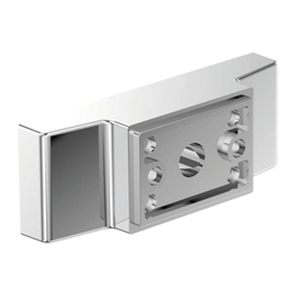Emco Vara Designvarianten - spodný úchyt pre doplnky Vara, chróm 428000104