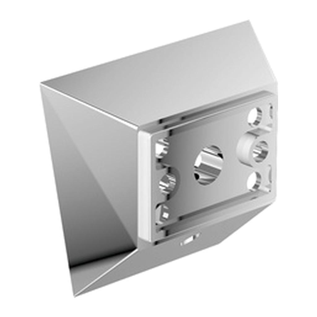 Emco Vara Designvarianten - spodný úchyt pre doplnky Vara, chróm 428000109