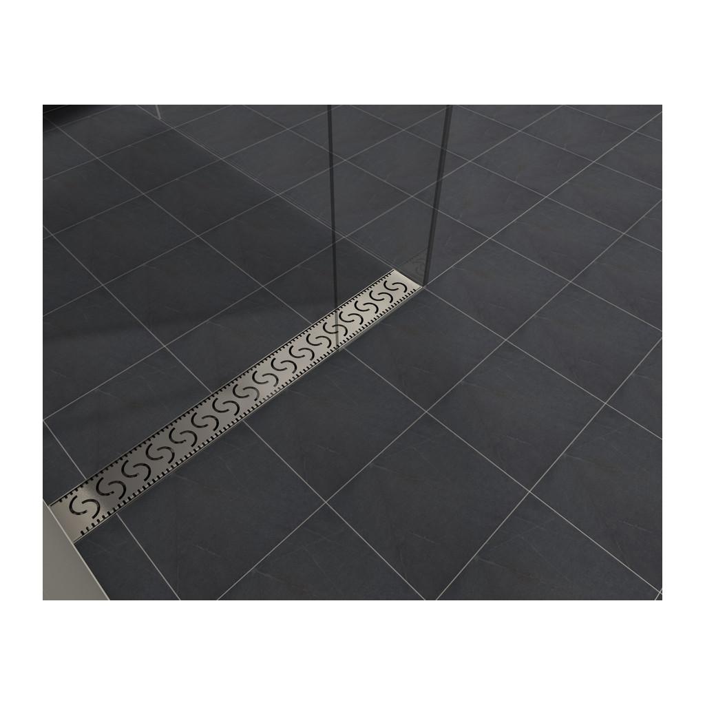 NEREZOVÉ SPRCHOVÉ ŽĽABY Sprchový rošt pre CLASSIC 100 a LIFT 100 - R0480-100