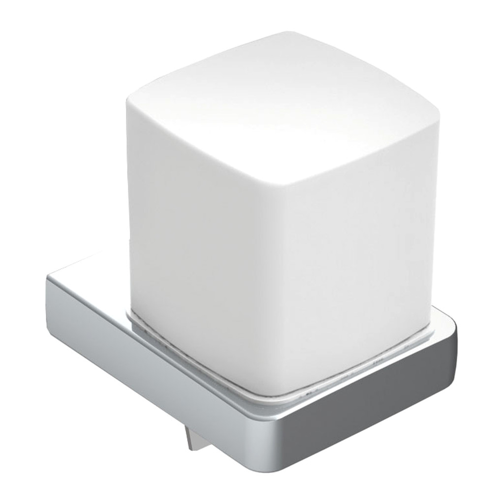 Emco Trend - Nástenný dávkovač tekutého mydla, satinové sklo 022100101