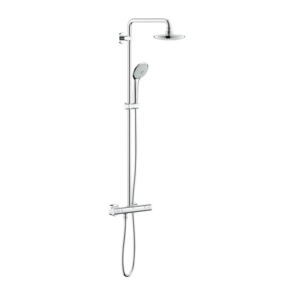 Grohe Euphoria 180 - sprchový systém s termostatickou batériou, chróm 27420001