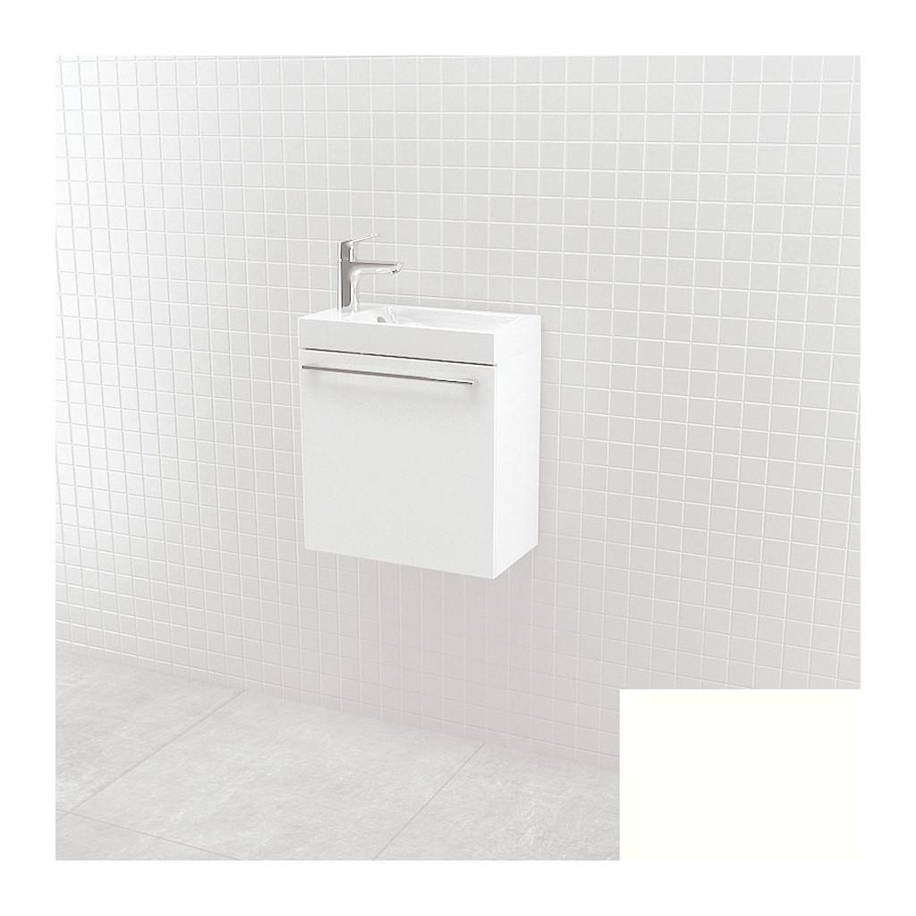 UMýVADLá SO SKRINKOU Vima- Umývadlo so skrinkou, 40x40x22cm, biela, 304.14