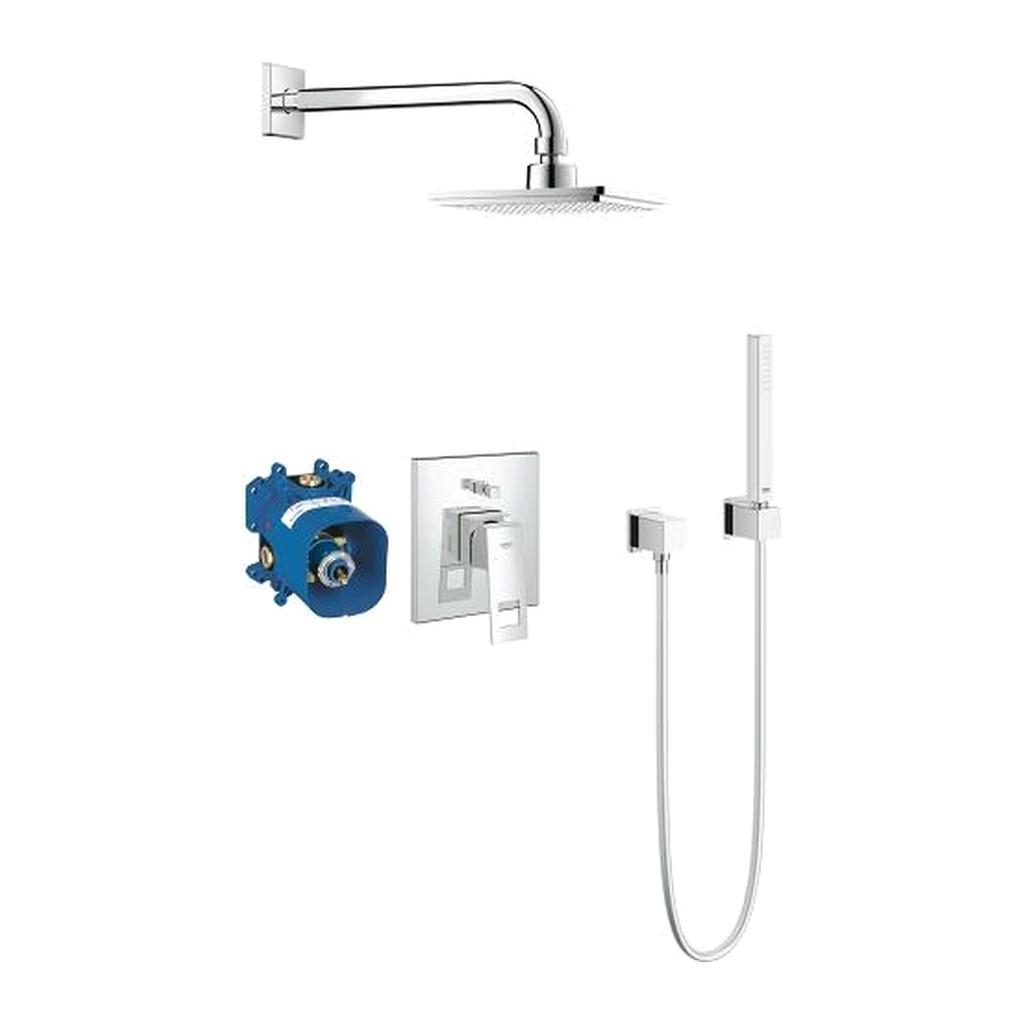 Grohe Eurocube - sprchový systém pod omietku, chróm 23409000