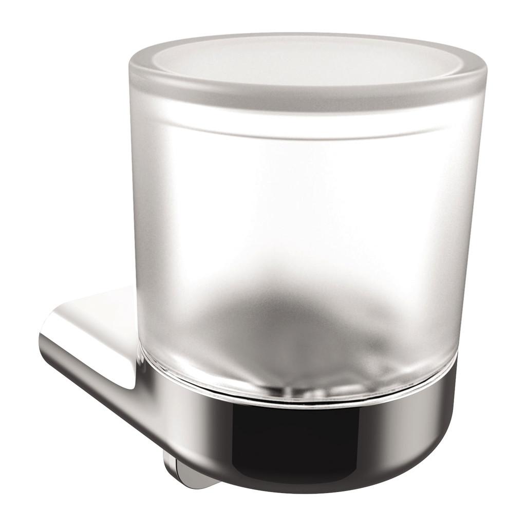 Emco S 66 - Nástenný dávkovač tekutého mydla, matné sklo 010-8124