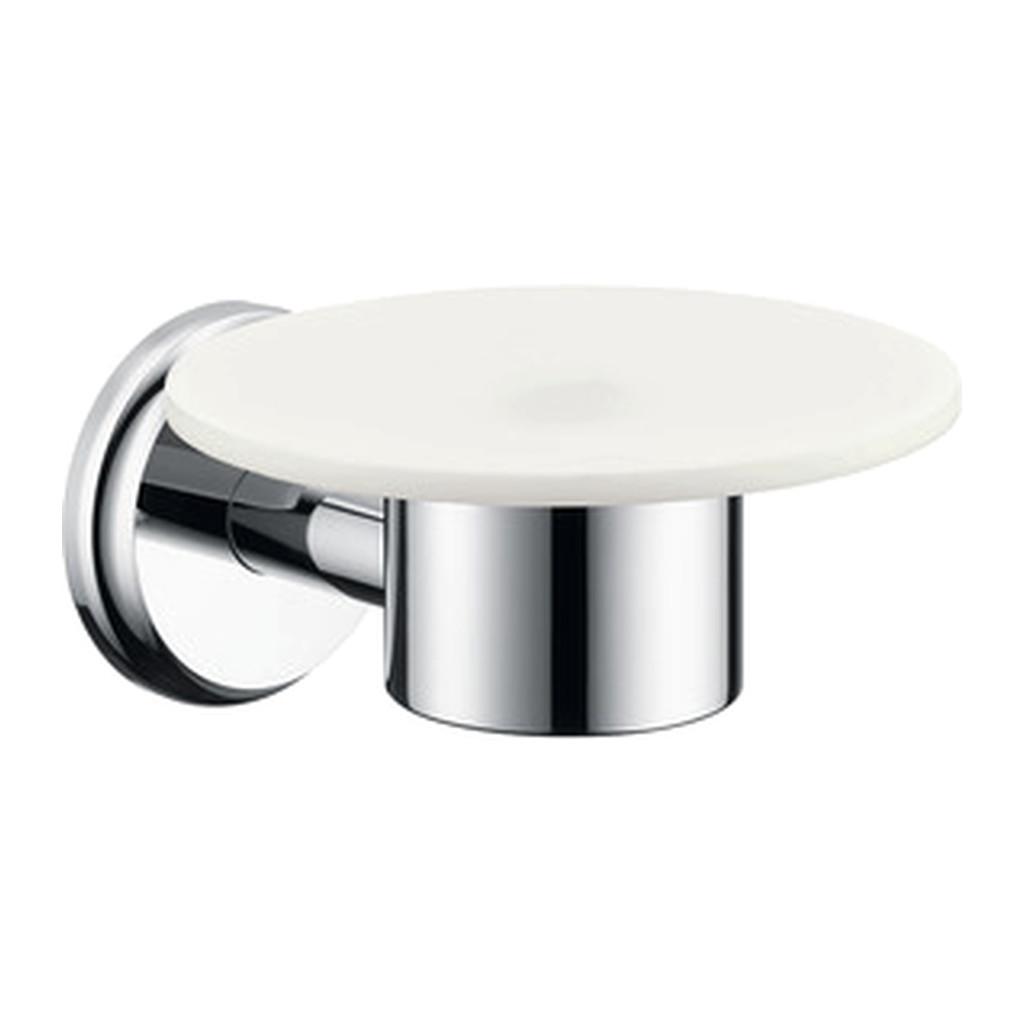 Hansgrohe Logis - Miska na mydlo, keramická, chróm 41615000