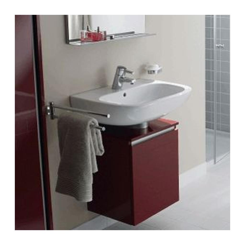 Duravit D-Code - skrinka pod umývadlo, závesná, odtieň: červená, D-D 9854.64 L
