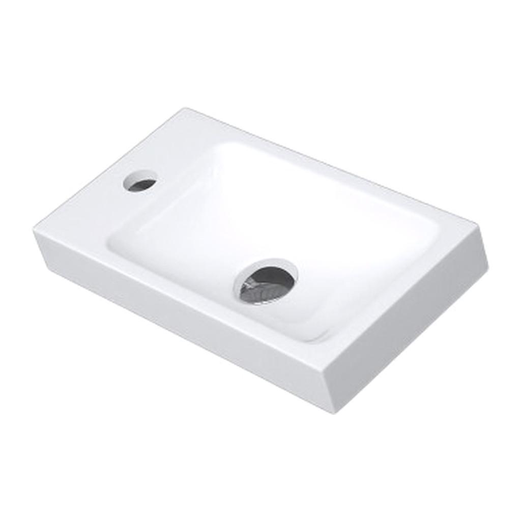 UMýVADLá Vima 176 ľavé- Umývatko, 40x22cm, biele