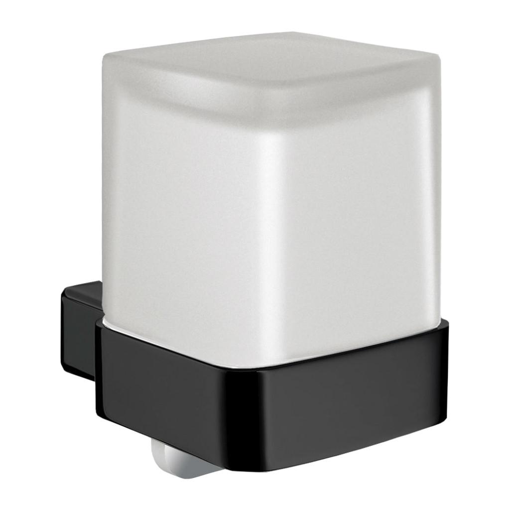 Emco Loft - dávkovač tekutého mydla nástenný, čierna 052113303