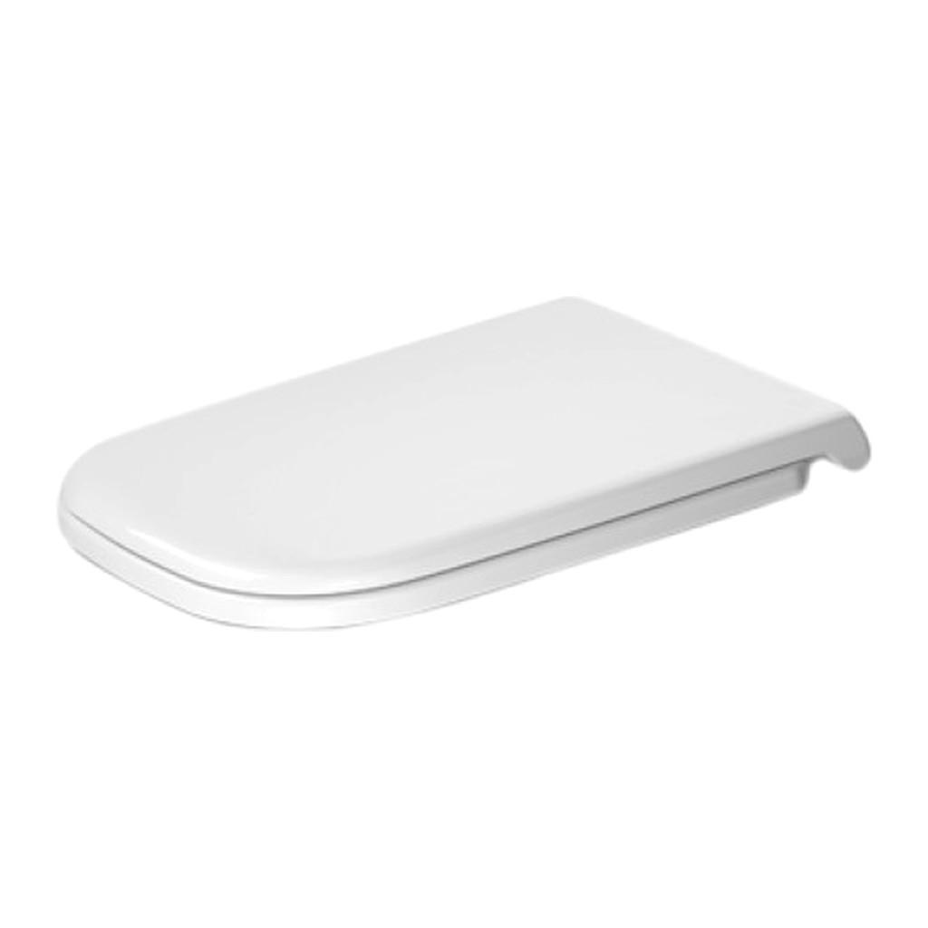 Duravit D-Code - WC sedátko, bez sklápacej automatiky, biele 0060310000