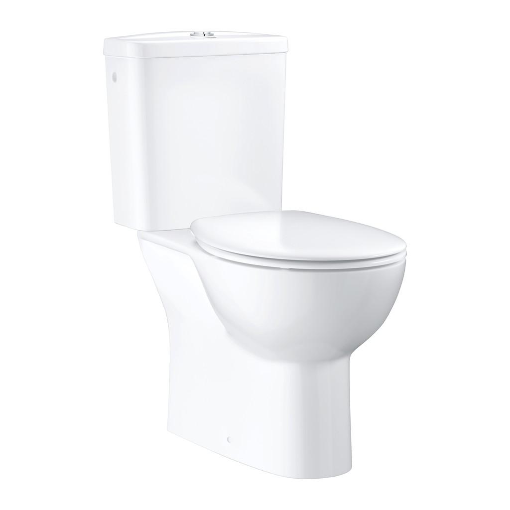 Grohe Bau Ceramic - SET kombi WC + nádržka + sedátko soft-close, alpská biela 39346000