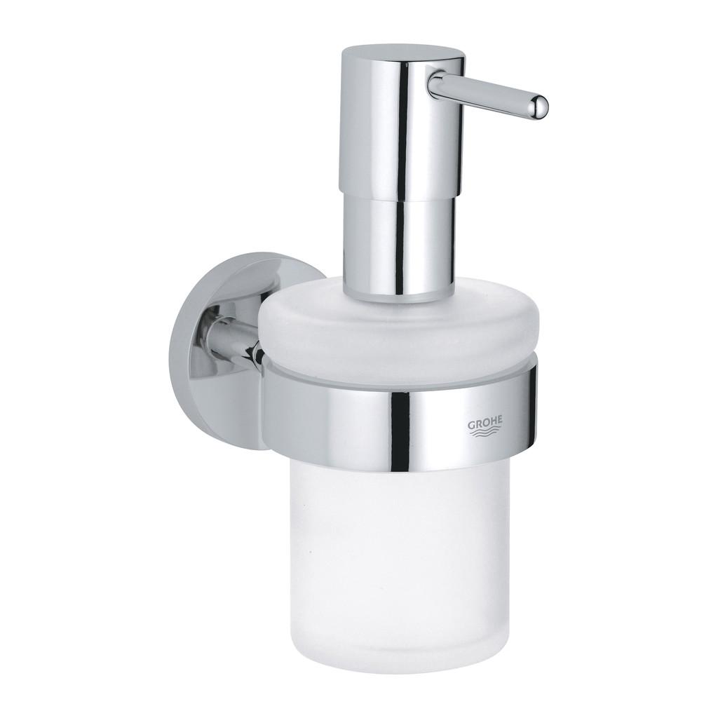 Grohe Essentials - Dávkovač tekutého mydla s držiakom, chróm 40448001