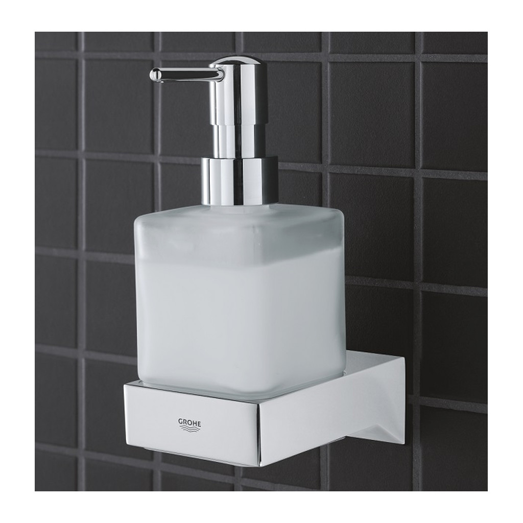Grohe Selection Cube - Dávkovač tekutého mydla, chróm 40805000