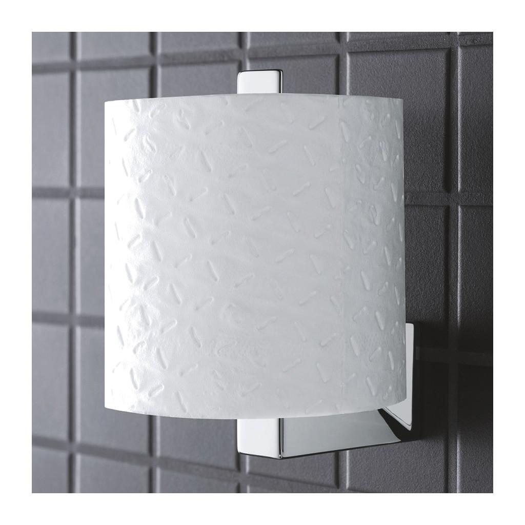 Grohe Selection Cube - Držiak náhradného toaletného papiera, chróm 40784000