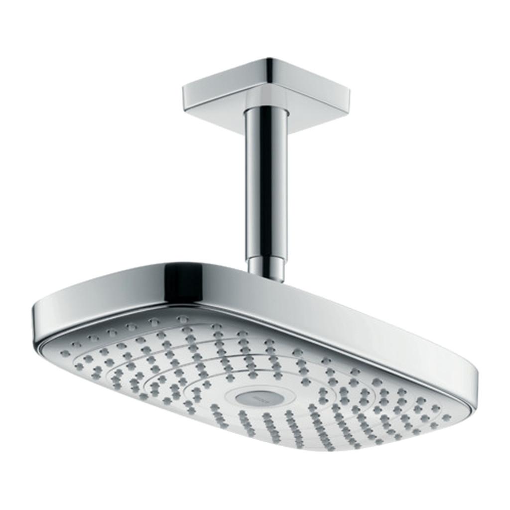 Hansgrohe Raindance Select E - Horná sprcha 300 2jet EcoSmart 9 l/min s prívodom od stropu , chróm 26608000