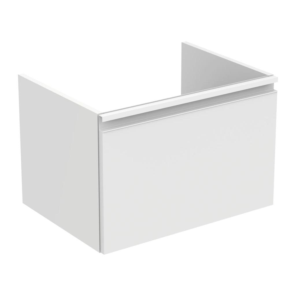 Ideal Standard Tesi - Skrinka pod umývadlo 60 cm - 1 zásuvka, Lesklý lak biely, T0046OV