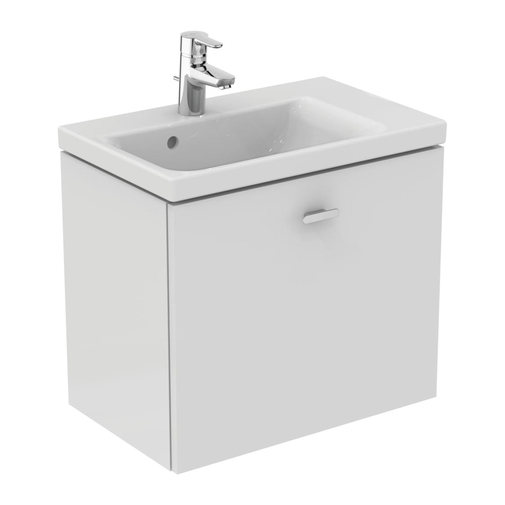 Ideal Standard Connect Space - Skrinka pod umývadlo 60 cm - pravá, Lesklý lak biely, E0315WG