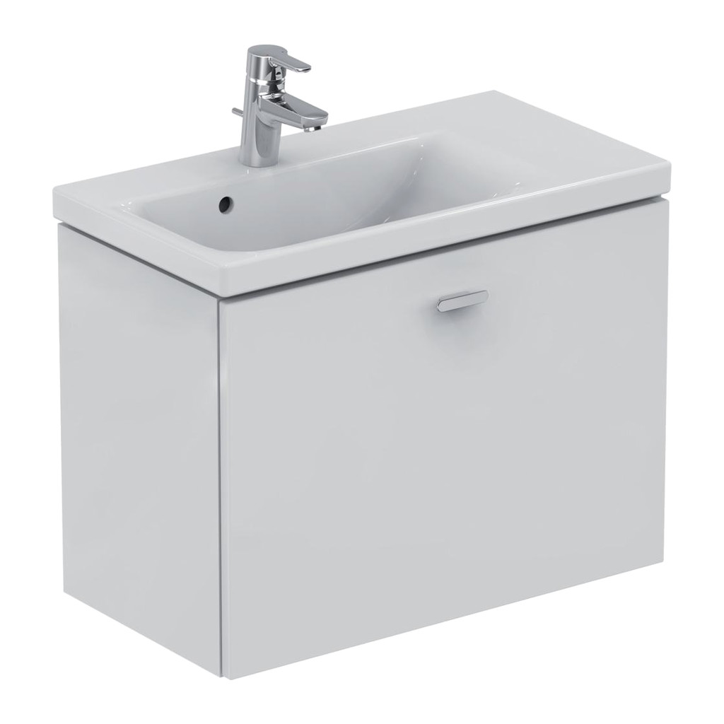 Ideal Standard Connect Space - Skrinka pod umývadlo 70 cm - pravá, Lesklý lak biely, E0317WG