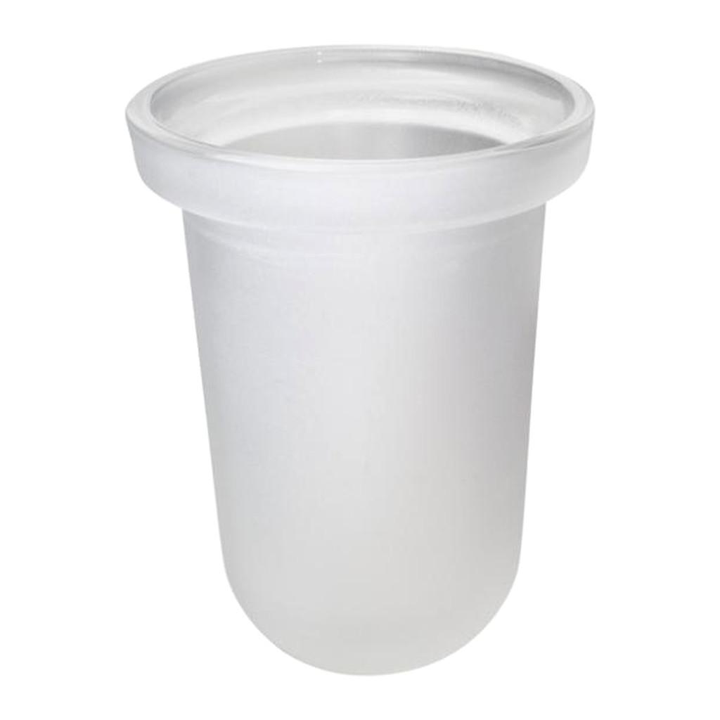 Emco Logo 2 - Sklenená nádoba na WC kefu, atlas 081500090