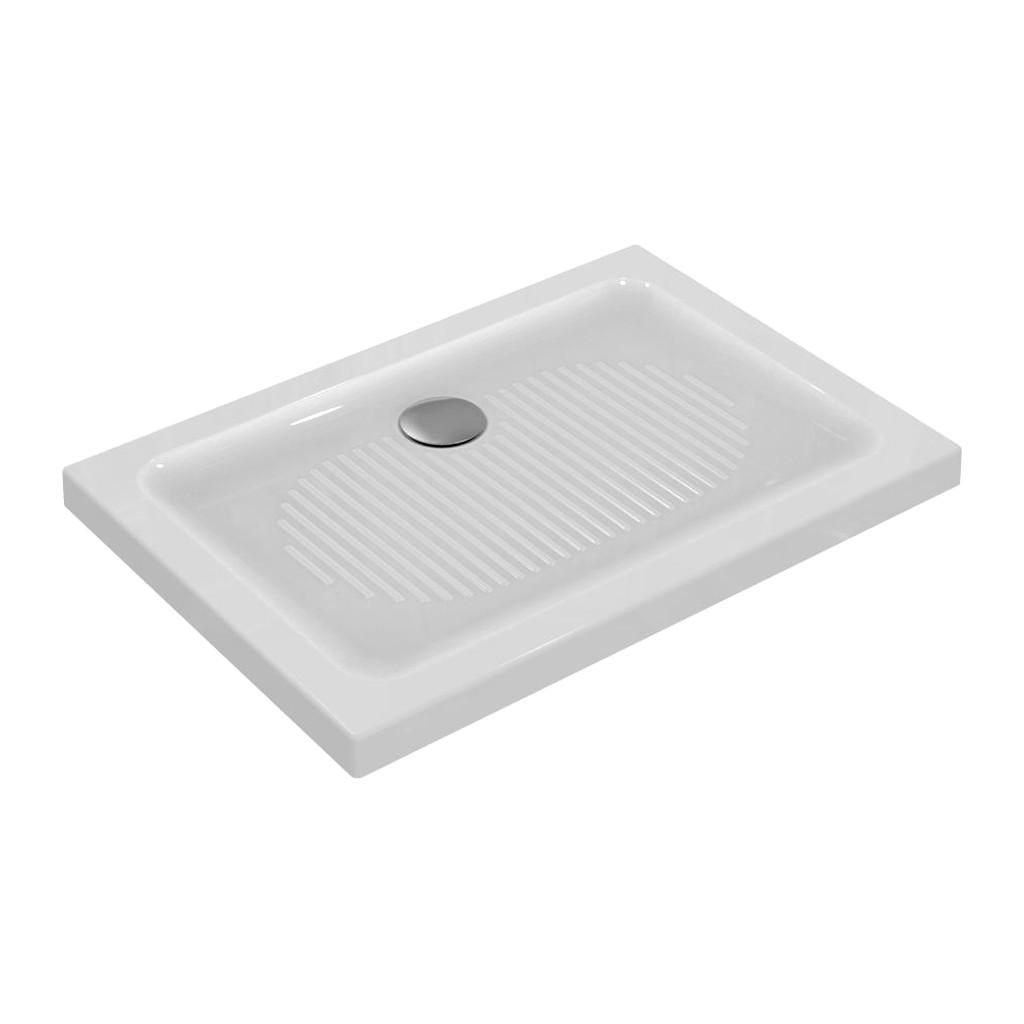 Ideal Standard Connect - Sprchová vanička keramická 100 x 70 cm, Biela, T267501