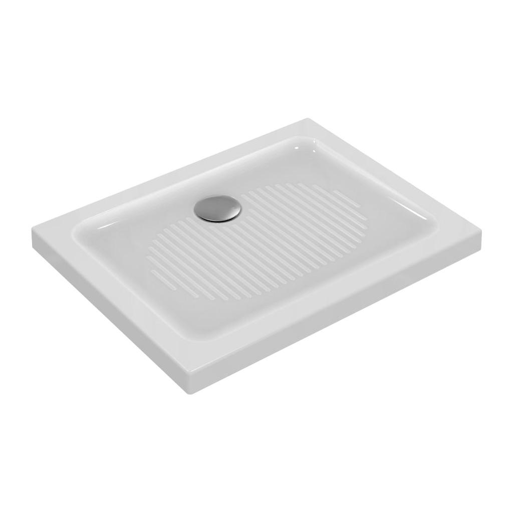 Ideal Standard Connect - Sprchová vanička keramická 90 x 70 cm, Biela, T267101
