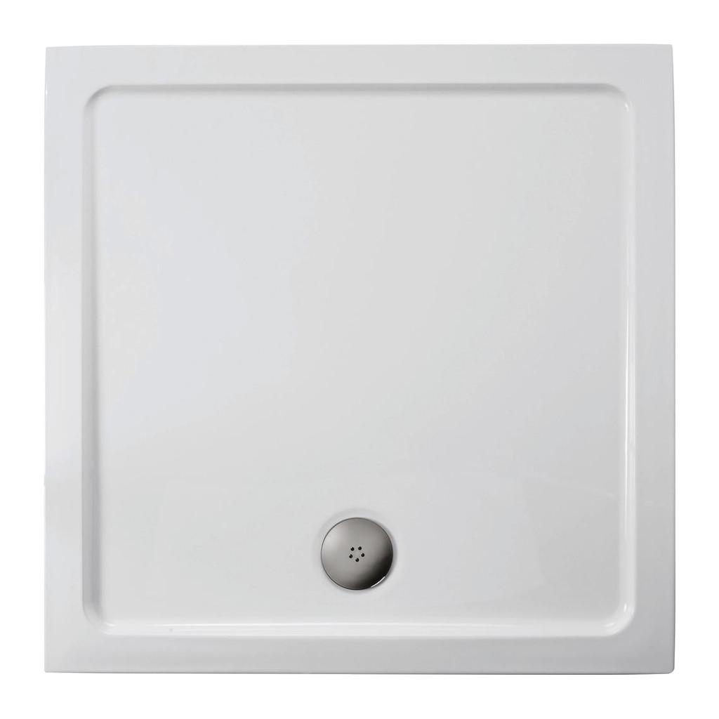 Ideal Standard Simplicity Stone - Sprchová vanička liaty mramor 70 x 70 cm, Biela, L504201
