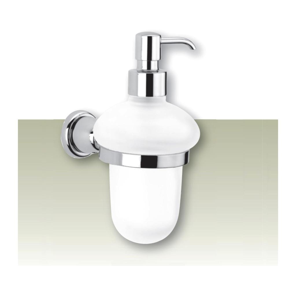 IVAB CRI - Dávkovač tekutého mydla nástenny, matné sklo IBCRI16
