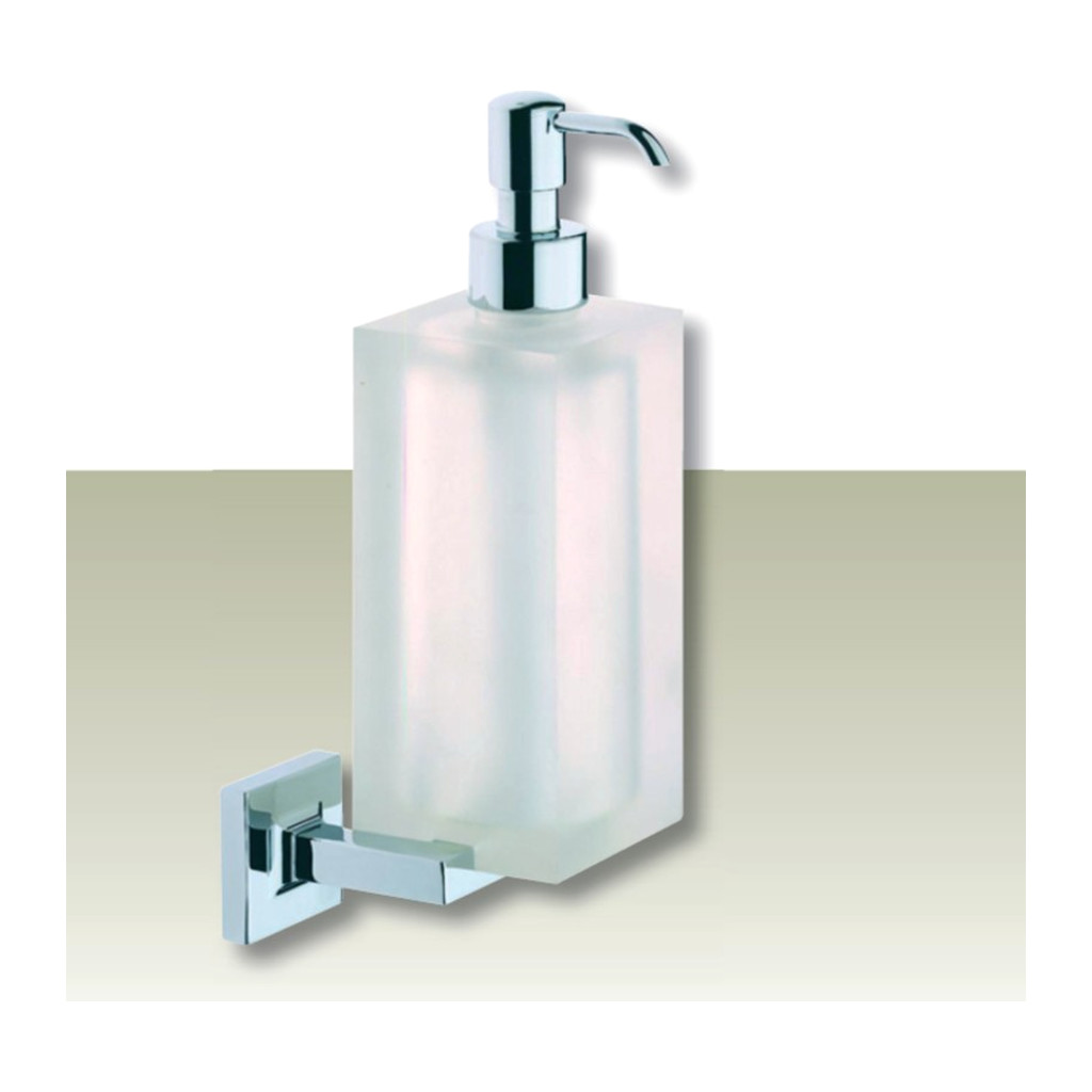 IVAB DADO - Dávkovač tekutého mydla nástenny, matné sklo IBDAD16