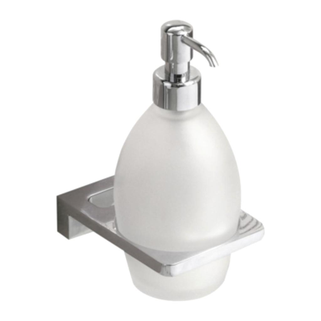 IVAB VINTAGE - Dávkovač tekutého mydla nástenny, matné sklo IBVIN16