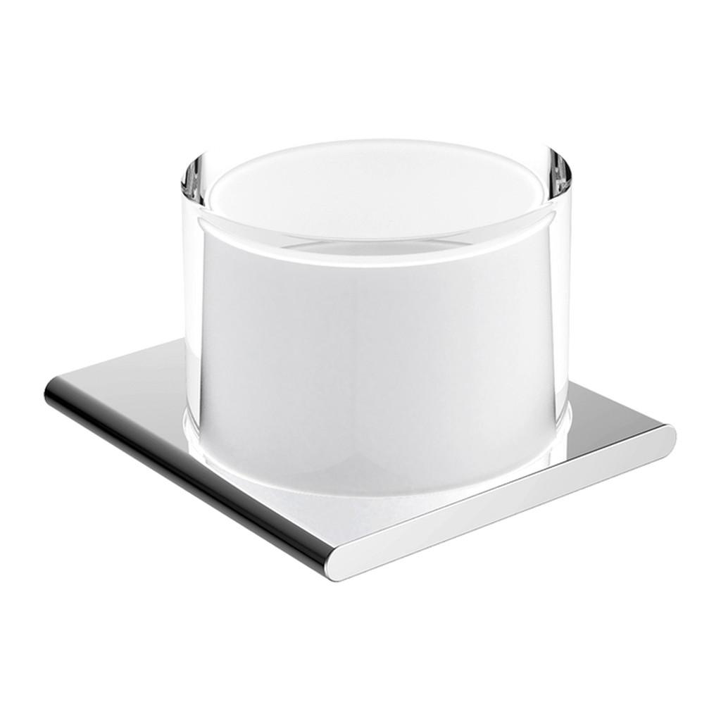 Keuco Edition 400 - Nástenný dávkovač tekutého mydla 150 ml, chróm/matné sklo 11552019000