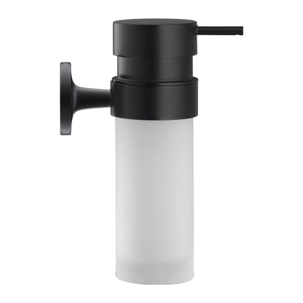 Duravit Starck T - Zásobník na mydlo, čierna matná, 0099354600