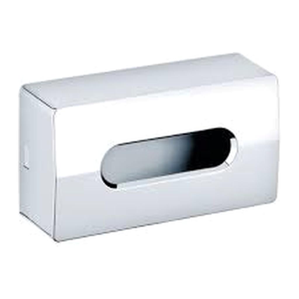 Keuco - Zásobník na kozmetické obrúsky zo strany uzavretý, chróm 04977010000
