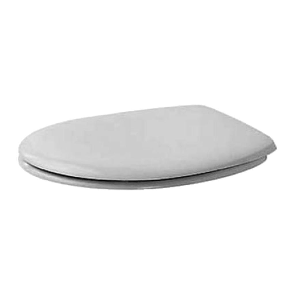 Duravit Duraplus - WC sedátko, bez sklápacej automatiky, biele 0064200000